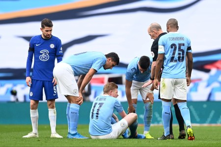 Kevin De Bruyne Injury 'doesn't Look Good' In Major Blow To Manchester City  Ahead Of Carabao Cup Final | Evening Standard