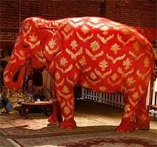 Banksy S Elephant Loses Its Paint Job London Evening