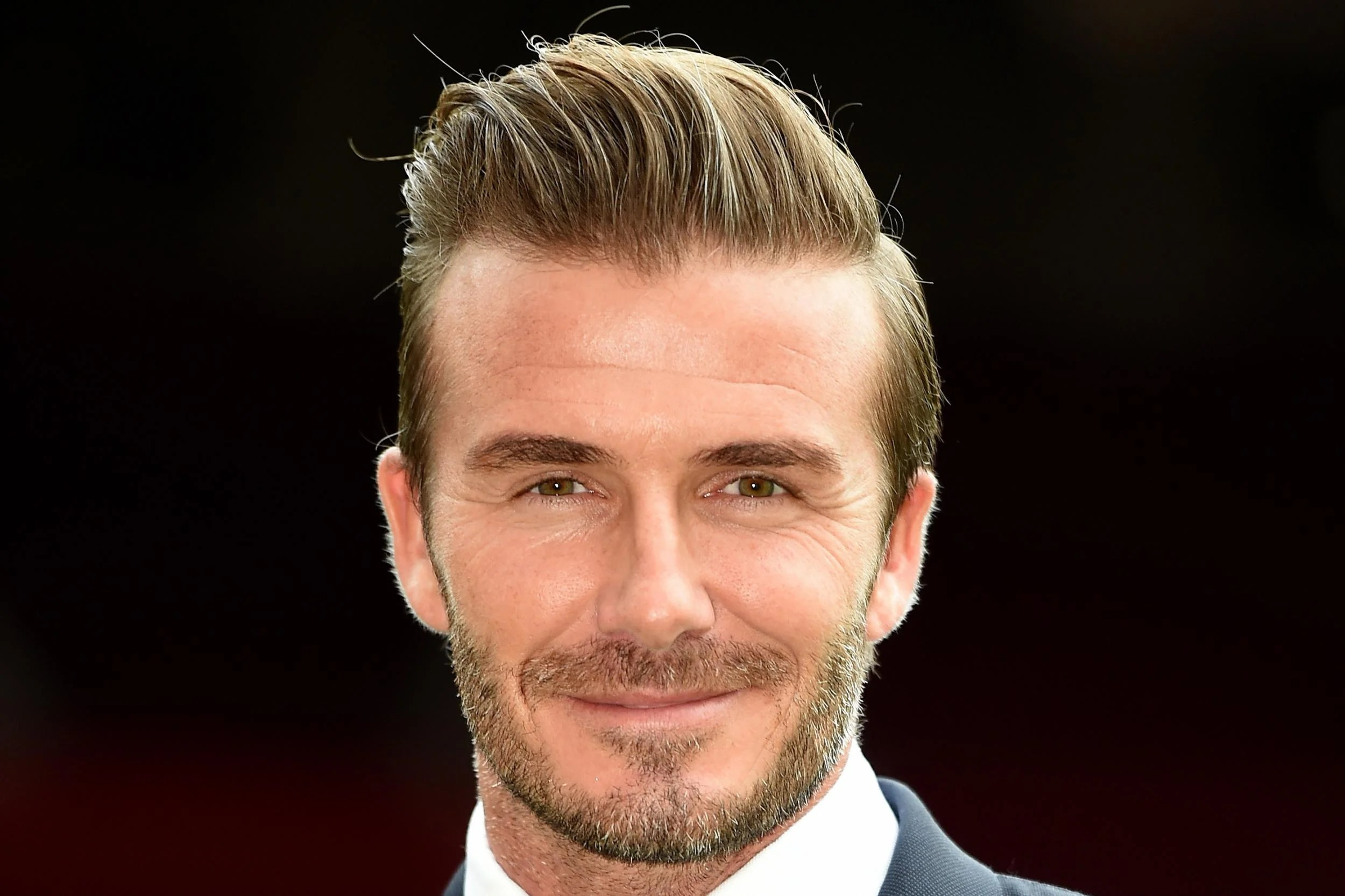 David Beckham treats London homeless man to beer and a ...