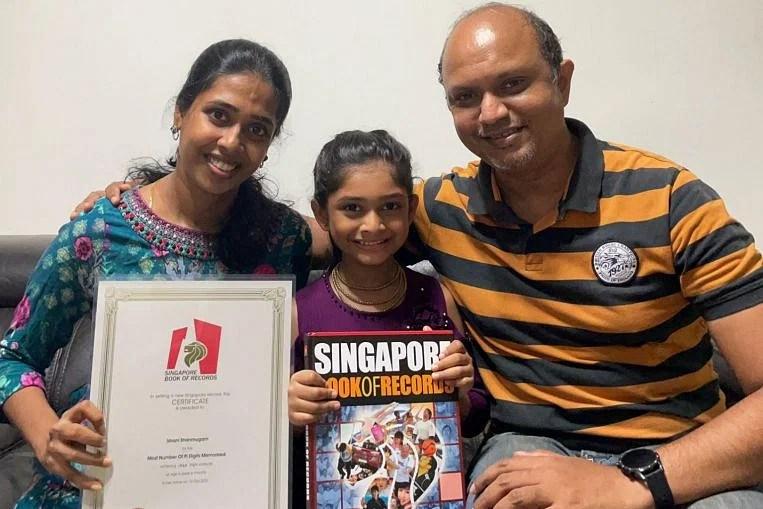 Watch Lady, 6, breaks Singapore's pi memorisation document; recites 1,560 digits – Google Singapore News