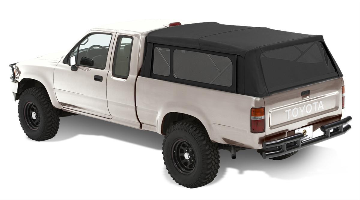 Bestop Soft Top Supertop Truck Bed Cover Canvas Black ...