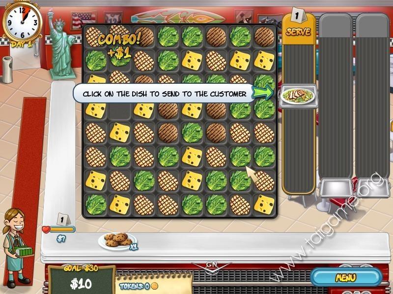 Restaurant Rush Game Free Online
