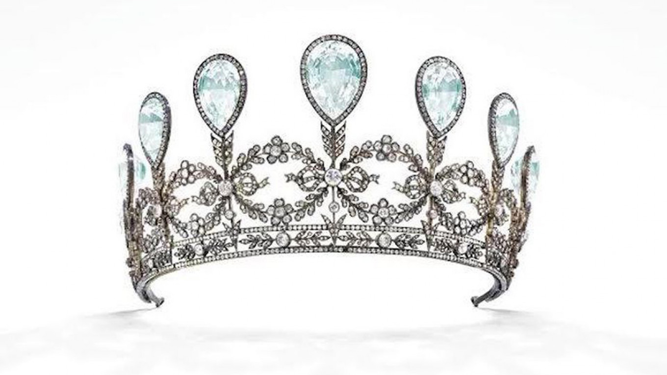 Christie S To Auction Historic Faberge Tiara The Moscow