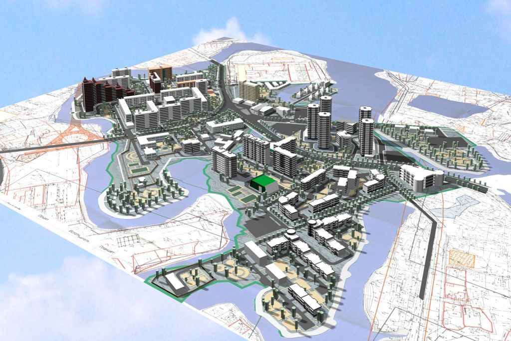 Make  map money  off your drone with Israeli start up s tech   The     A rendered 3D image map  Courtesy Pixtier