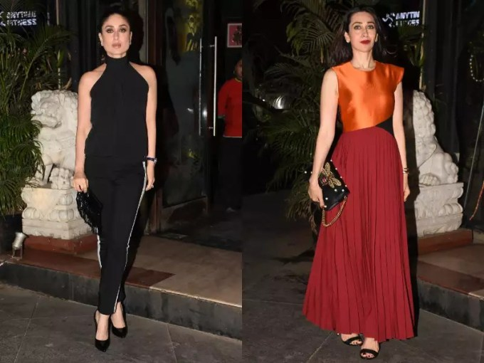Kareena or Karisma  Who looks better  Karisma just beat Kareena in the game of fashion and you would agree