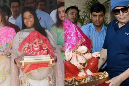Ganesh Chaturthi 2018  Bollywood celebrities welcome Lord Ganesha home