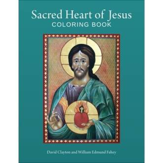 Sacred Heart of Jesus Coloring Book   The Catholic Company