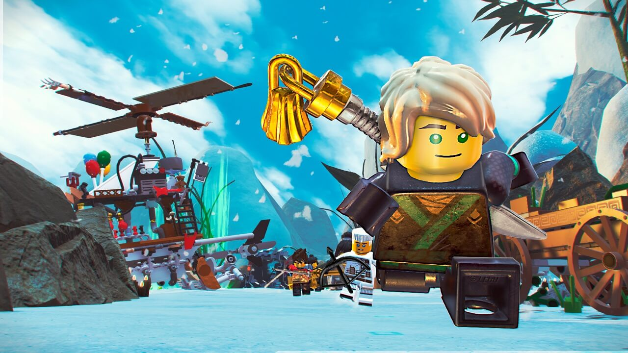 The LEGO NINJAGO Movie Video Game Shows Off New Screenshots     Lego Ninjago Movie Video Game   Screens