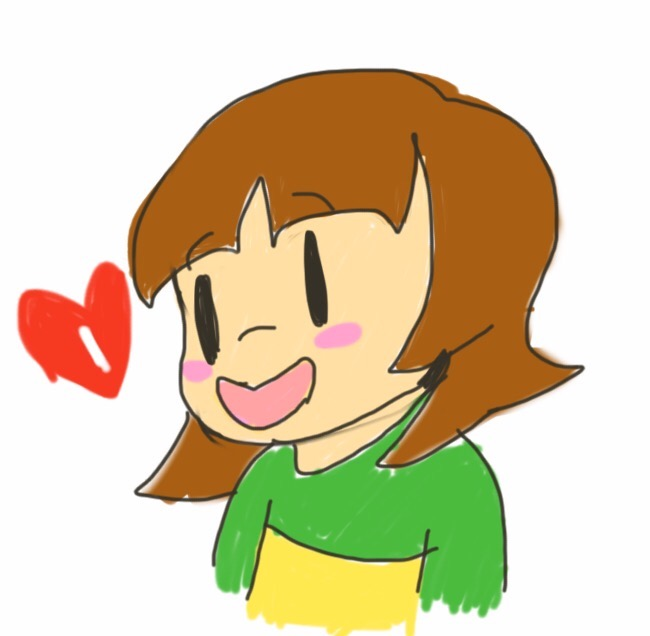 Long Haired Chara Underswap