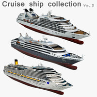 Cruise Ship 3D Models for Download   TurboSquid