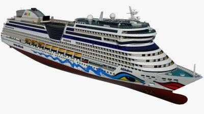 3D cruise ship - TurboSquid 1177319