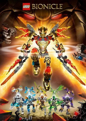 BIONICLE (2015) / Characters - TV Tropes
