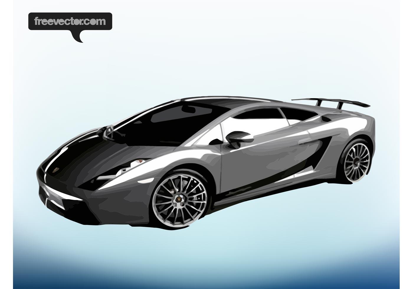 Lamborghini Gallardo Superleggera Download Free Vectors