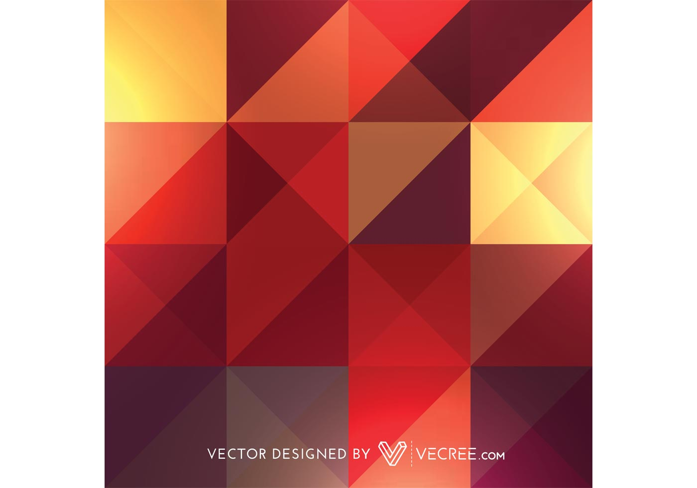 Beautiful Colorful Abstract Pattern Vectors Free Vector
