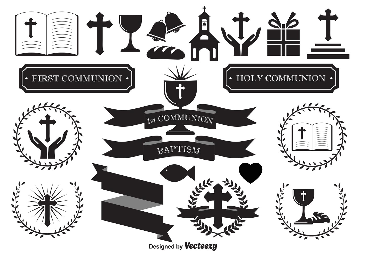 Original Baptism Invitations