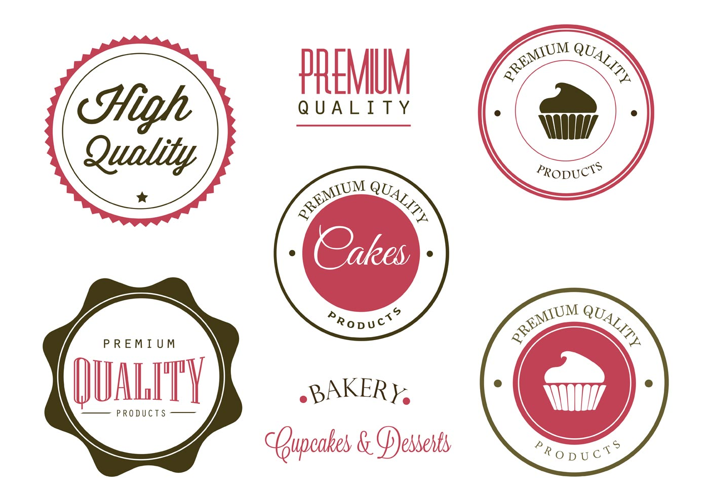 Free Bakery Labels And Logo Vectors Download Free