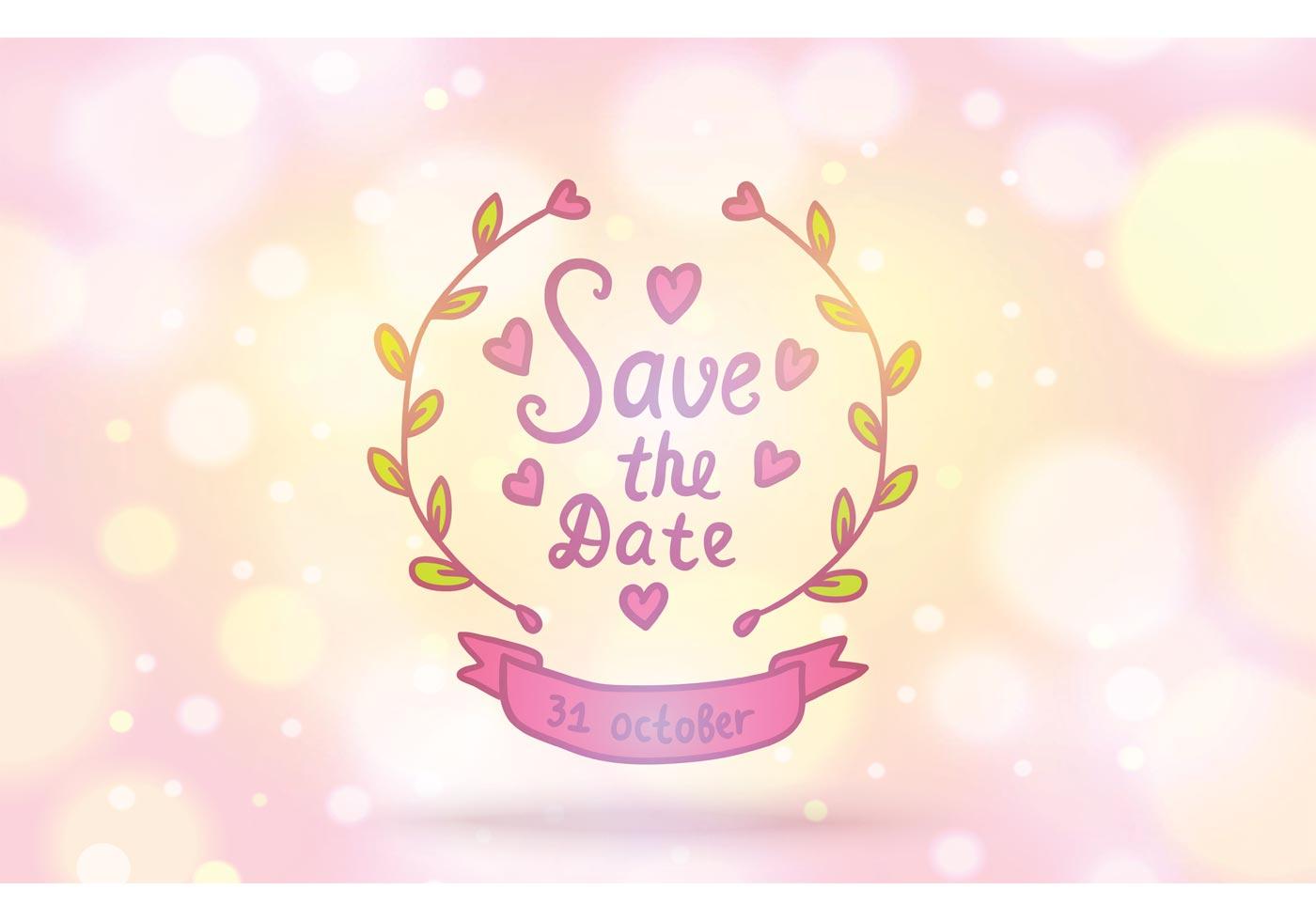 Original Save Date Cards