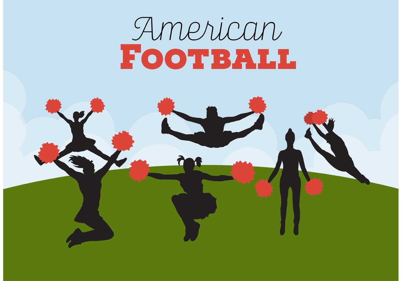 Football Cheerleading Backgrounds Download Free Vectors
