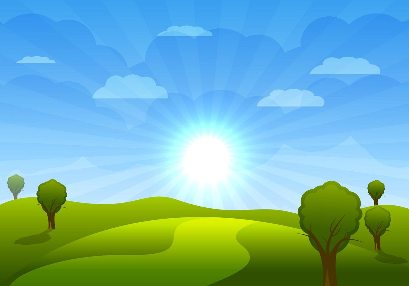 Art Morning Sunshine Clip