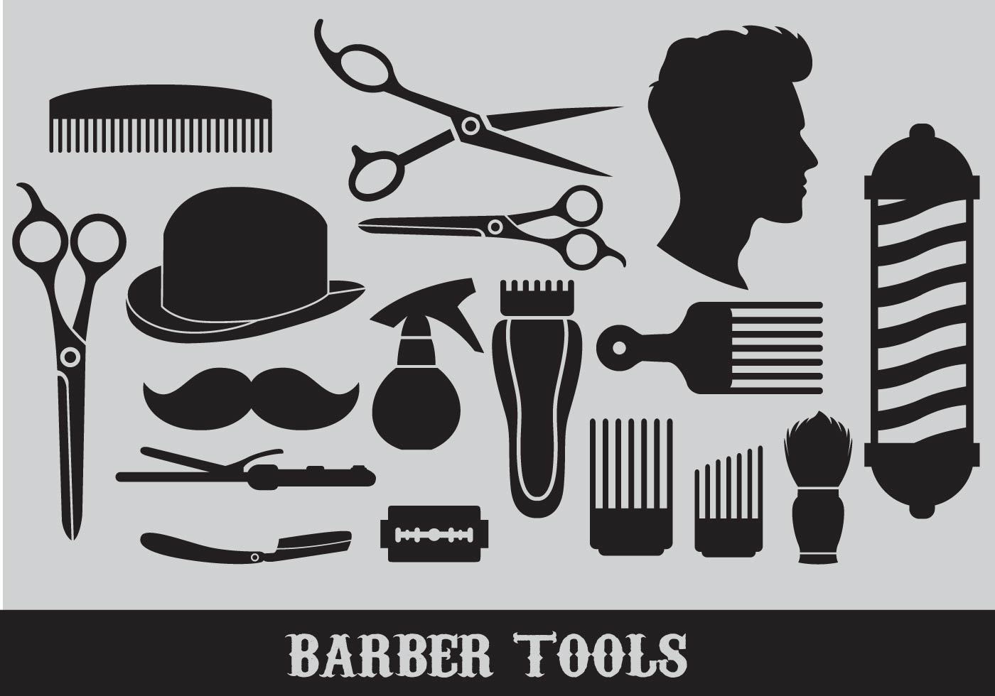 barber logo svg - HD 1400×980
