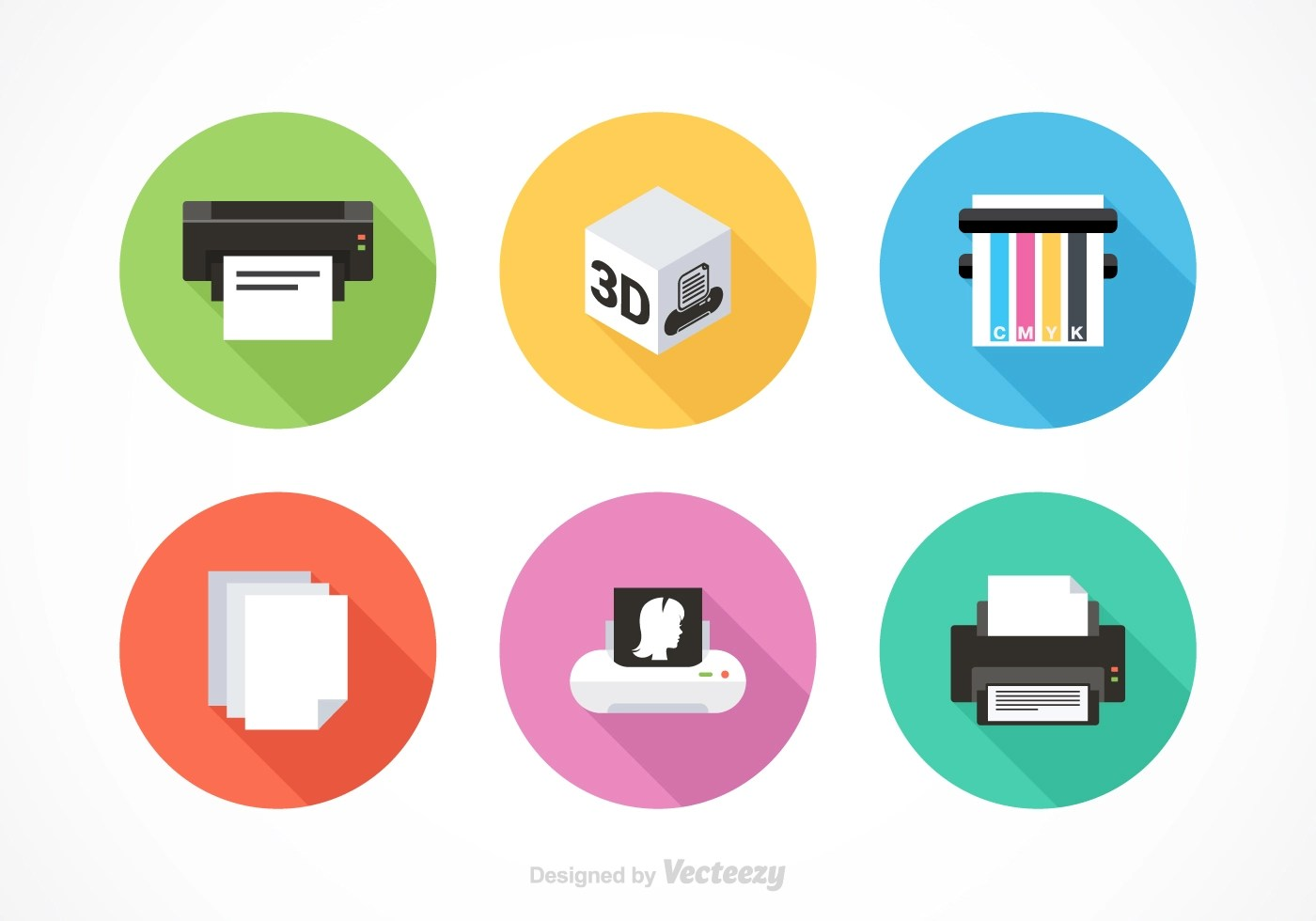 Printer Free Vector Art - (10187 Free Downloads)