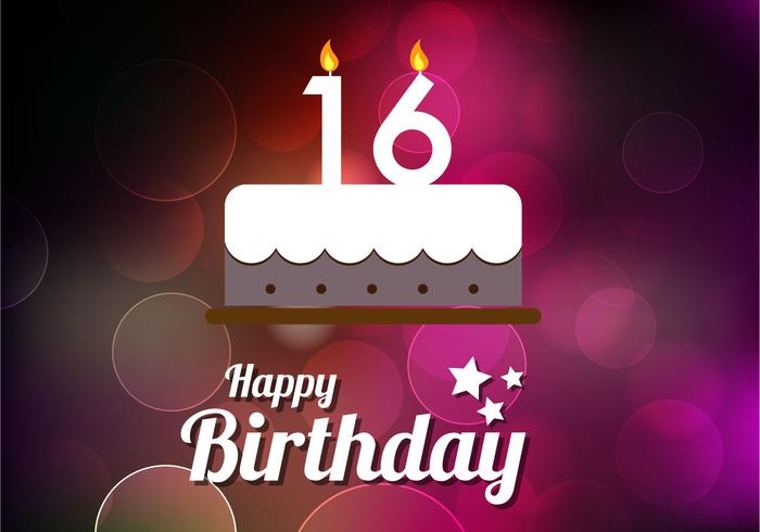 Free Sweet 16th Vector Download Free Vectors Clipart