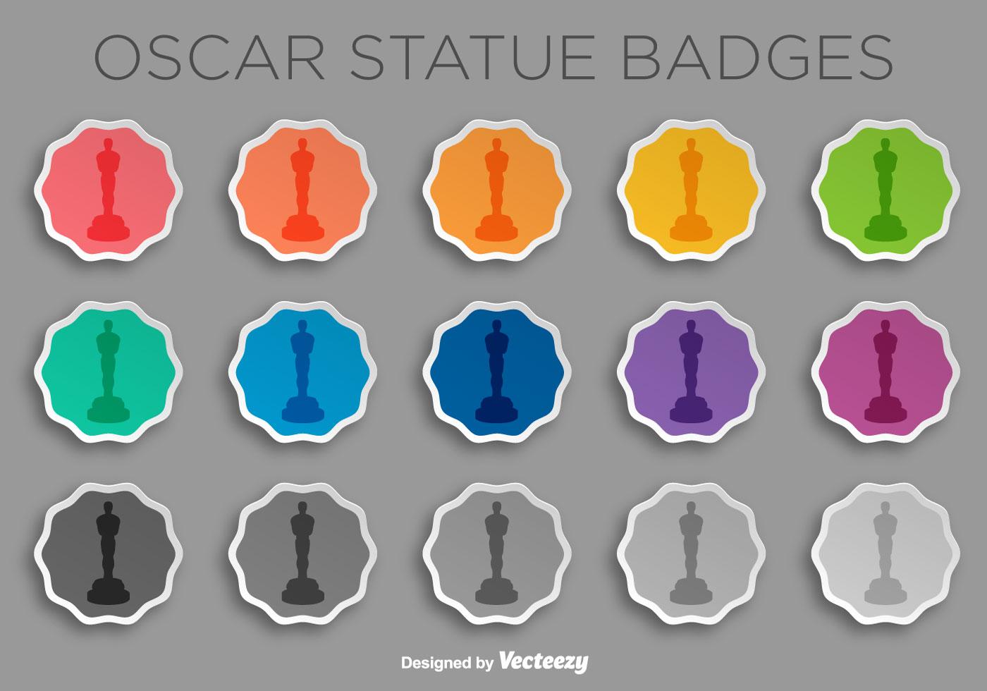 academy award statue template