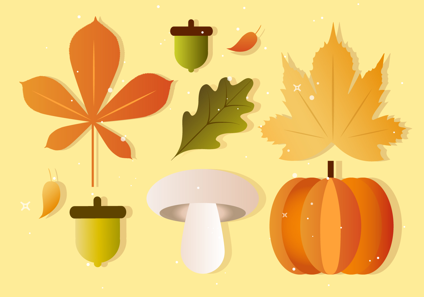 Free Vector Fall Autumn Elements Download Free Vector