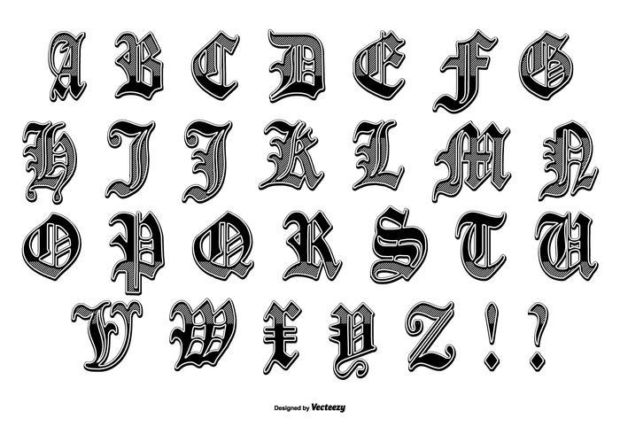 Fancy Letters D Designs
