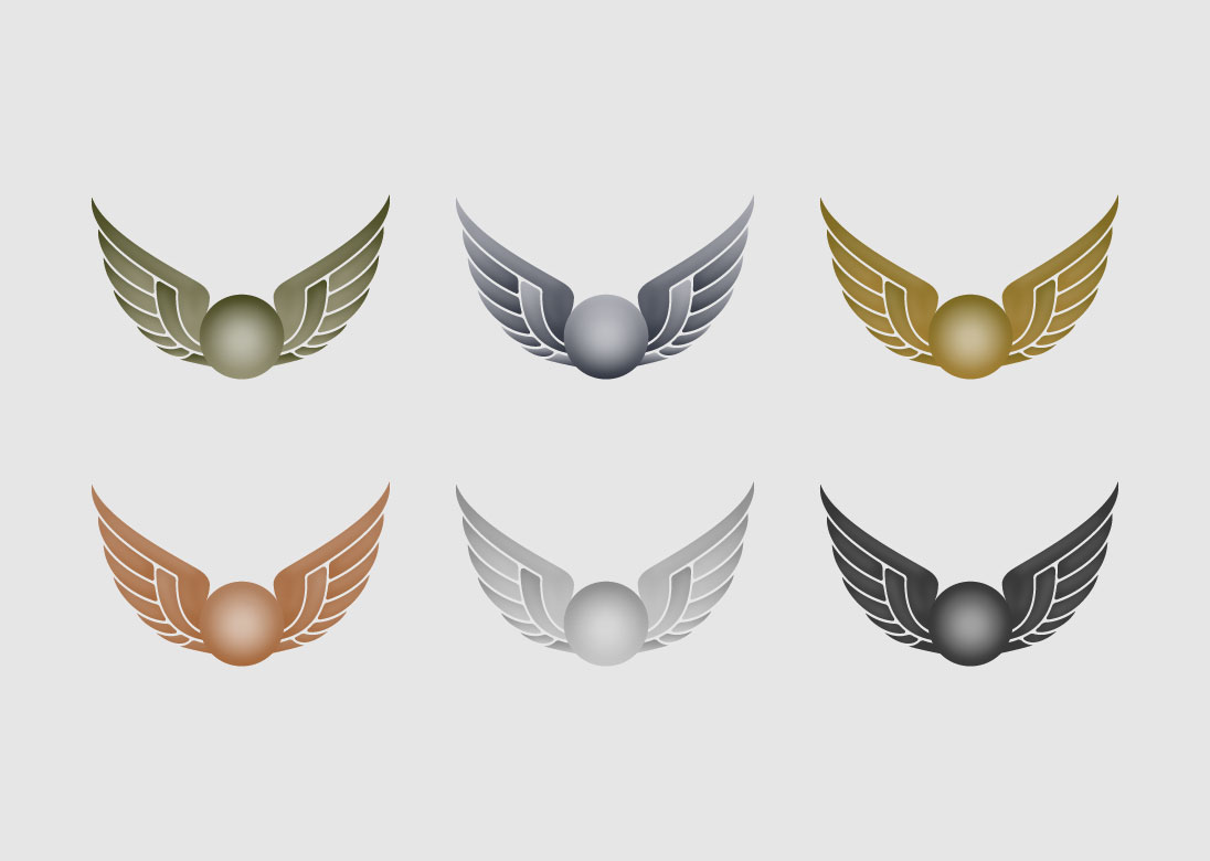 harry potter snitch wings template