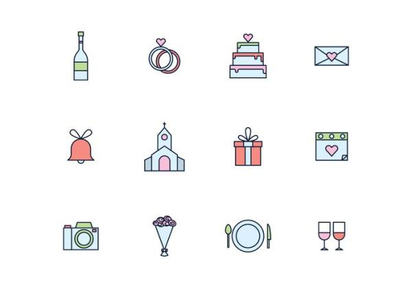free wedding icons # 67