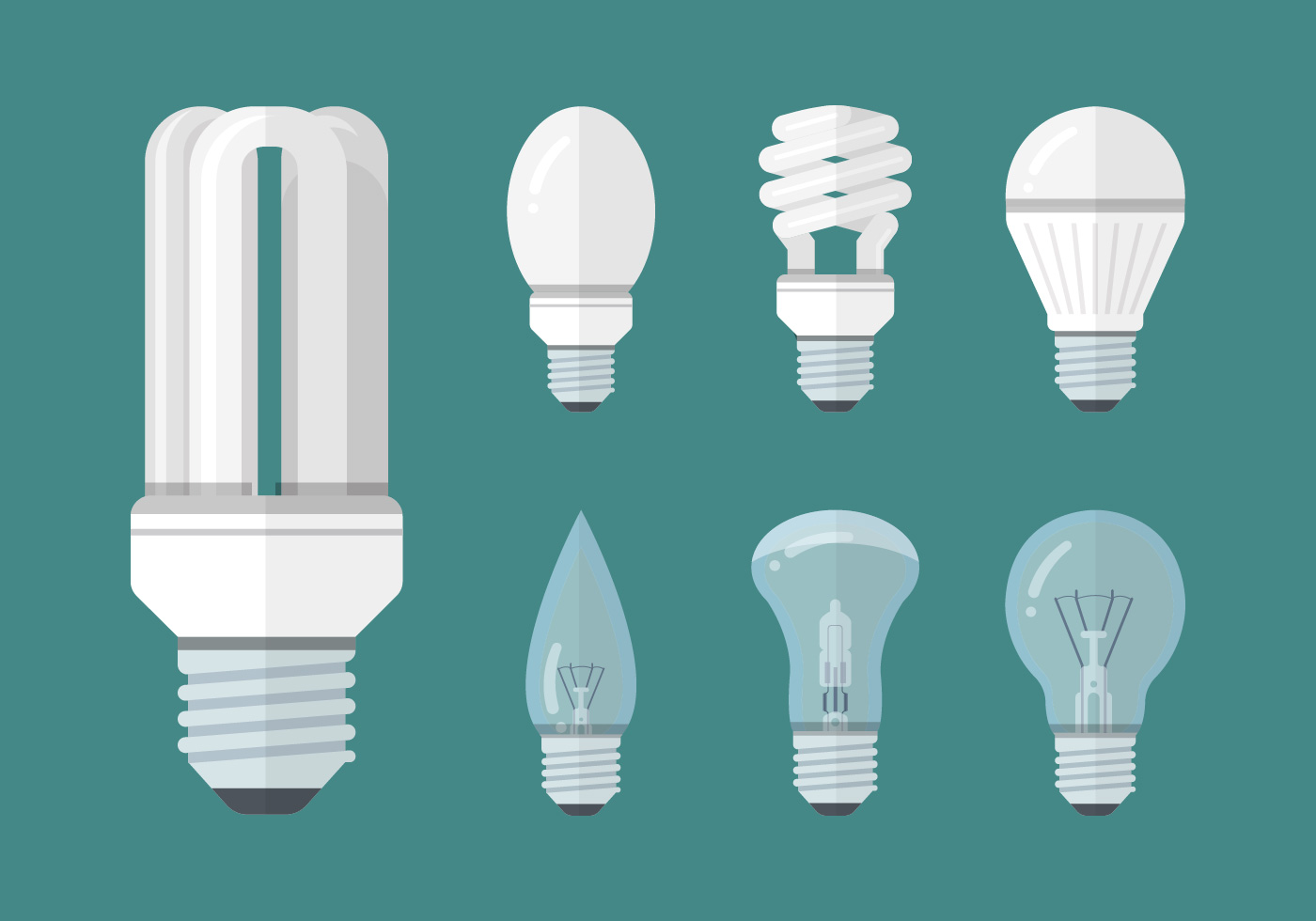 Led Light Bulb Icon