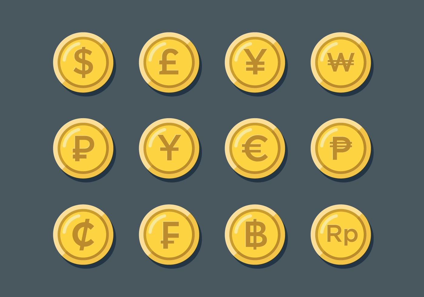 World Currency Graphics
