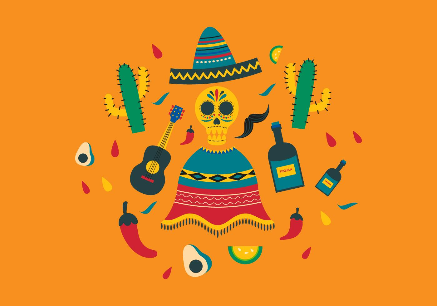mexican backgrounds clip art - HD1400×980