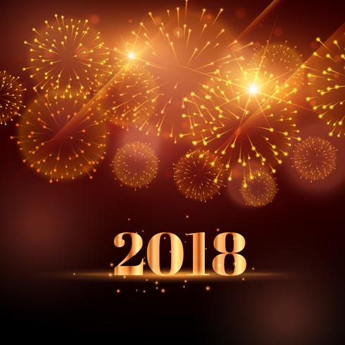 happy new year fireworks background for 2018   Download Free Vector     happy new year fireworks background for 2018
