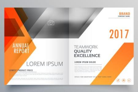 brand magazine cover page design or bifold brochure template vec     brand magazine cover page design or bifold brochure template vec