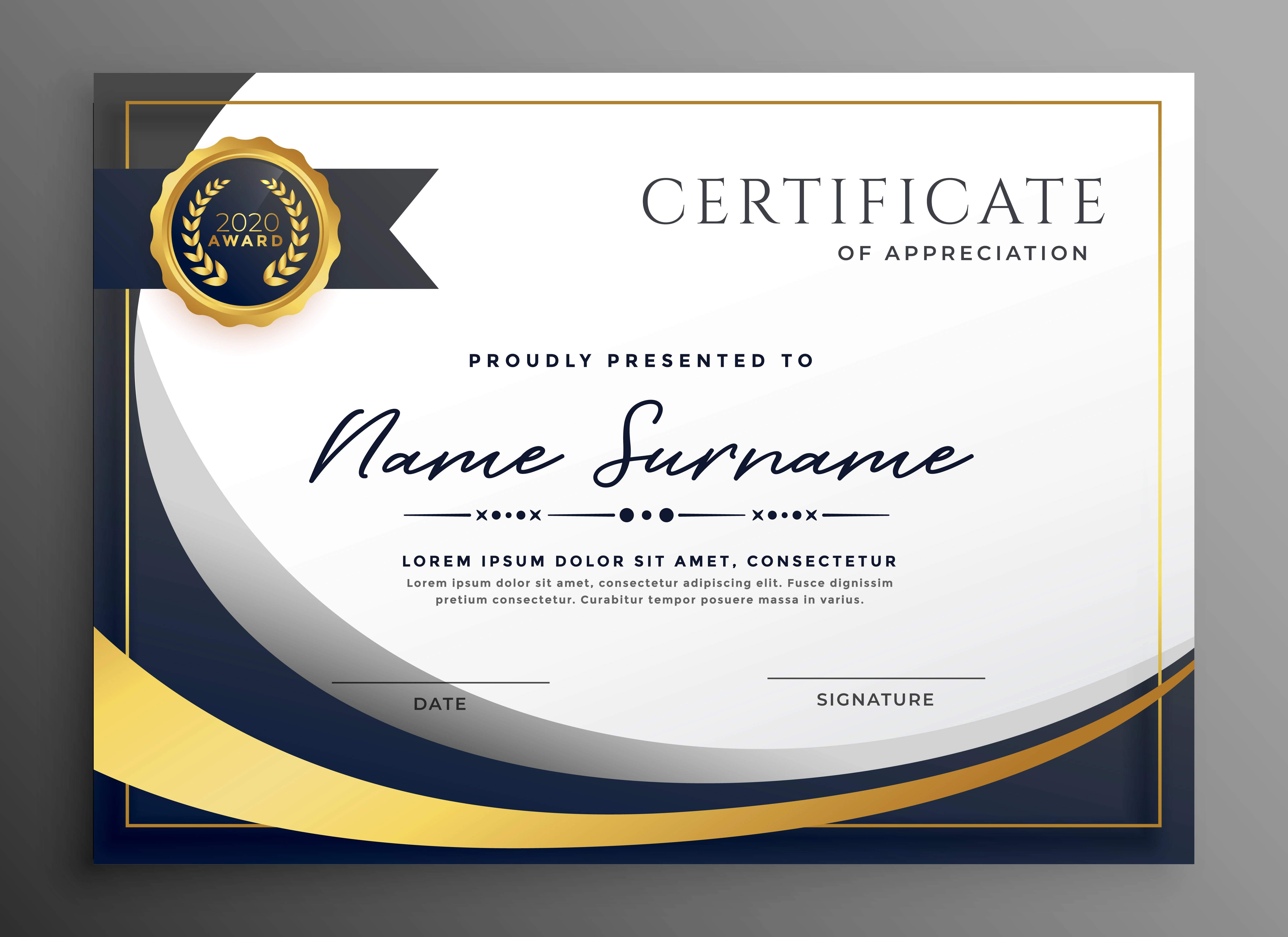 Certificate Background Free Vector Art - (144,765 Free ...