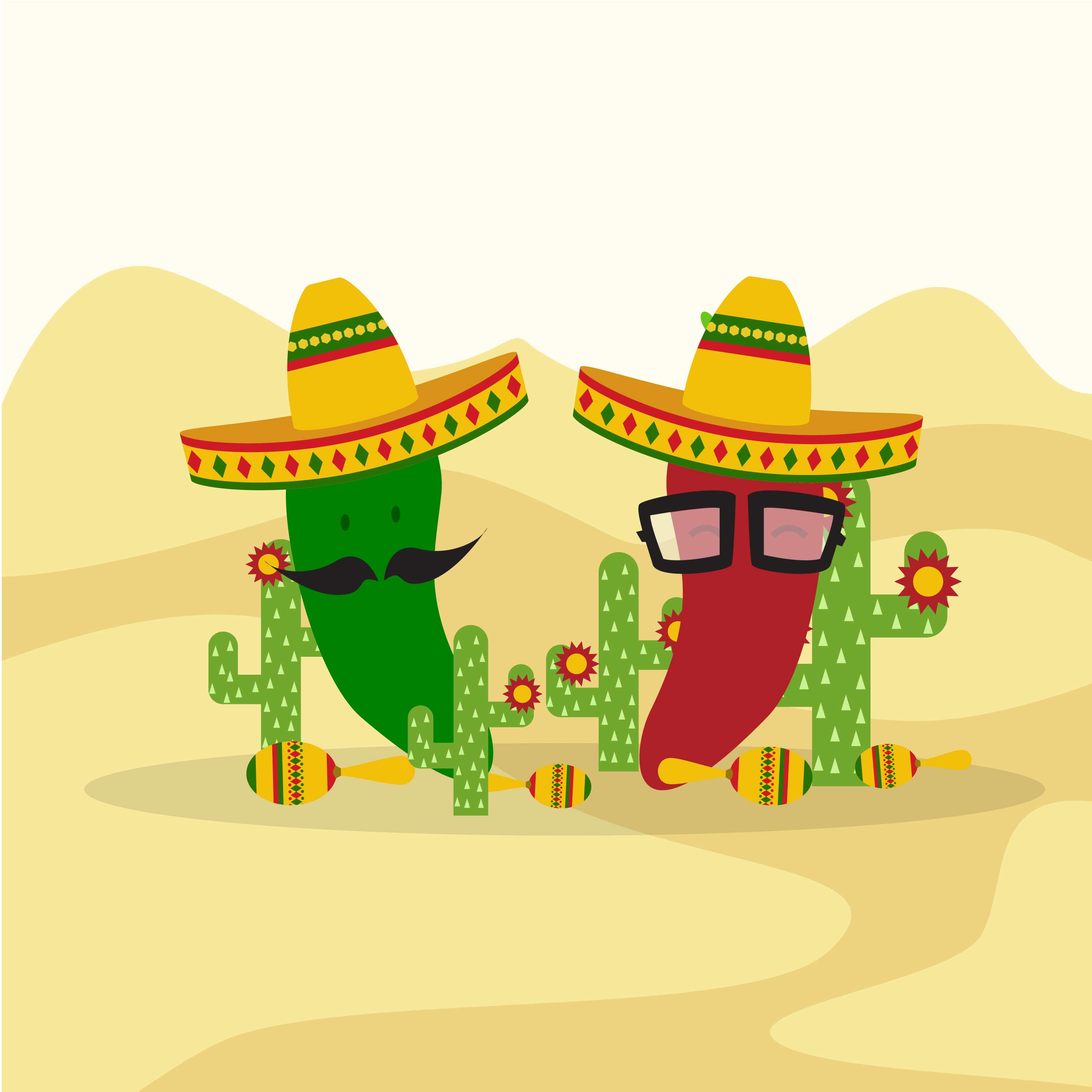 mexican backgrounds clip art - HD2800×2800