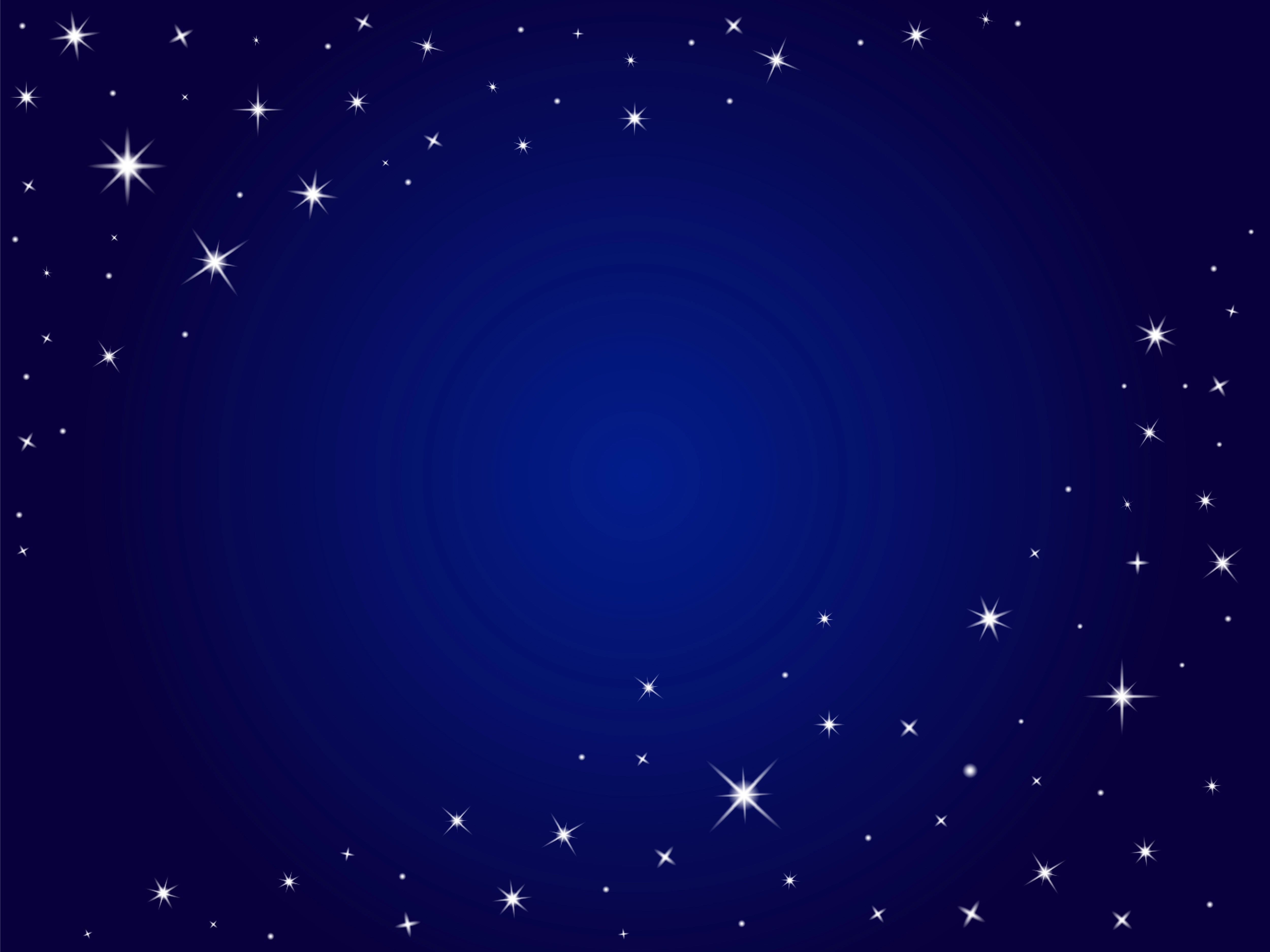 Blue space stars vector background ,night sky - Download ...