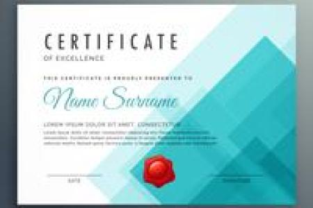 Certificate Template Free Vector Art    23948 Free Downloads  certificate of excellence template