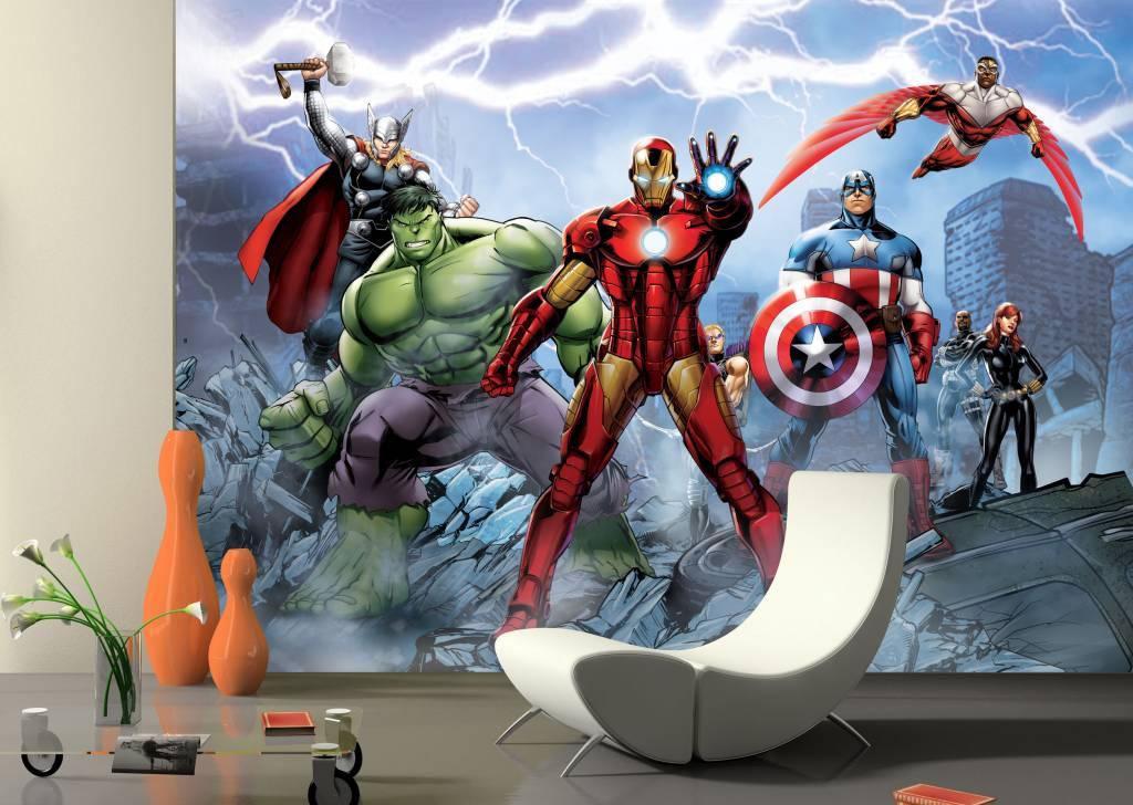 Fotobehang G Design Avengers 4D - De Behangwinkelier