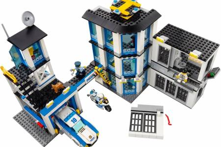 Lego City Police Station Full Hd Pictures 4k Ultra Full Wallpapers