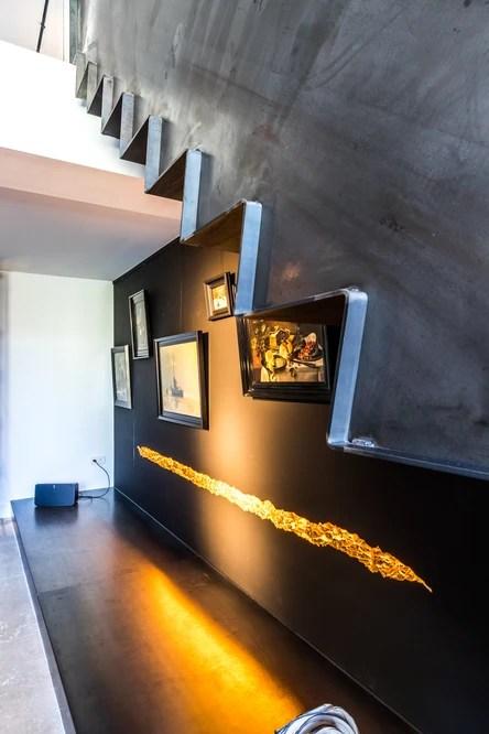Modern Steel Design Archieven Van Bruchem Staircases | Modern Steel Staircase Design | Small House | Beautiful | Handrail | Solid Steel | Gallery