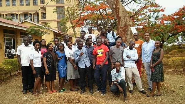 How Youth Mappers in Uganda are improving their mapping skills     Team Mappers for Life   Uganda Christian University  Mbale