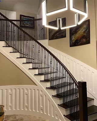 Stair Railing Contractors Orange County Ca | Pacific Stairs And Railings | Architecture | Wire Mesh | Cad | Casey Brown | Modern Staircase