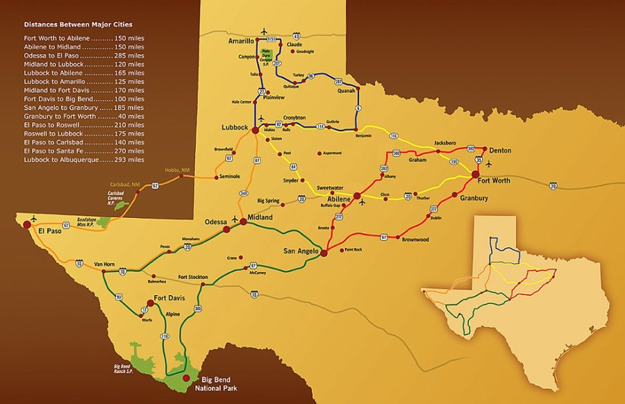 map of the american southwest » Agricshow | Nursery