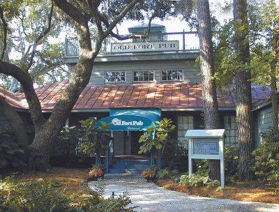 Hilton Head Restaurant Waterfront Old Fort Pub