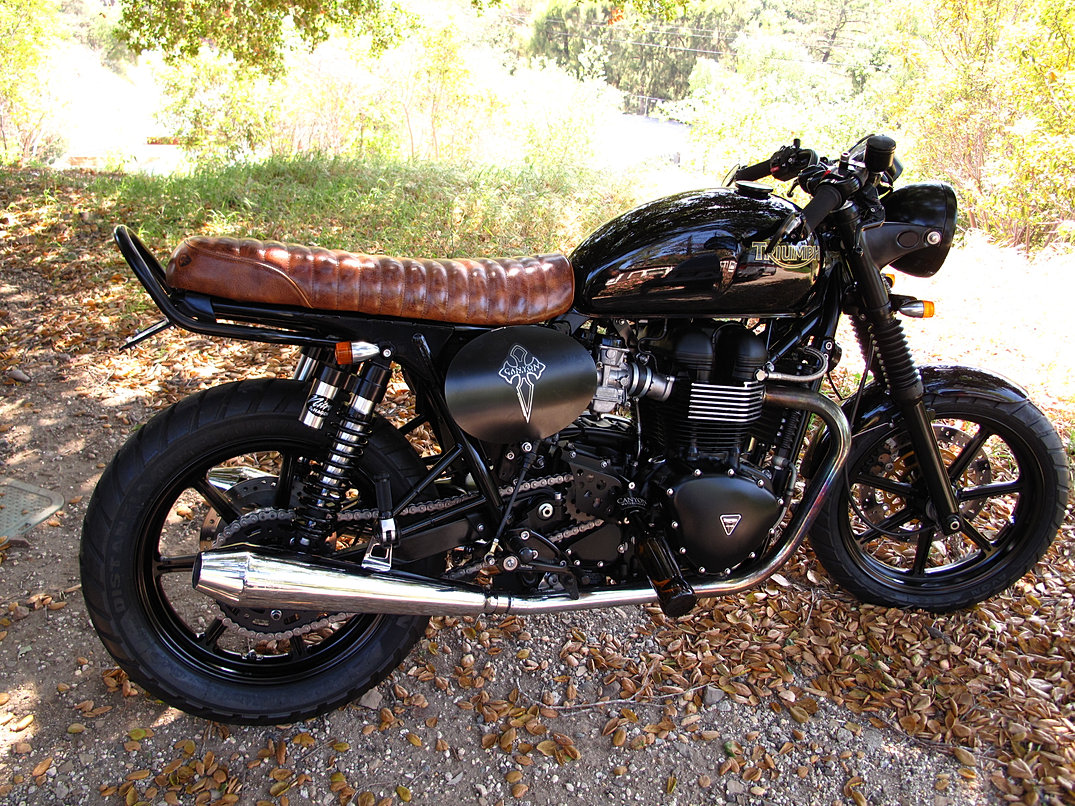 Custom Triumph Motorcycle Accessories
