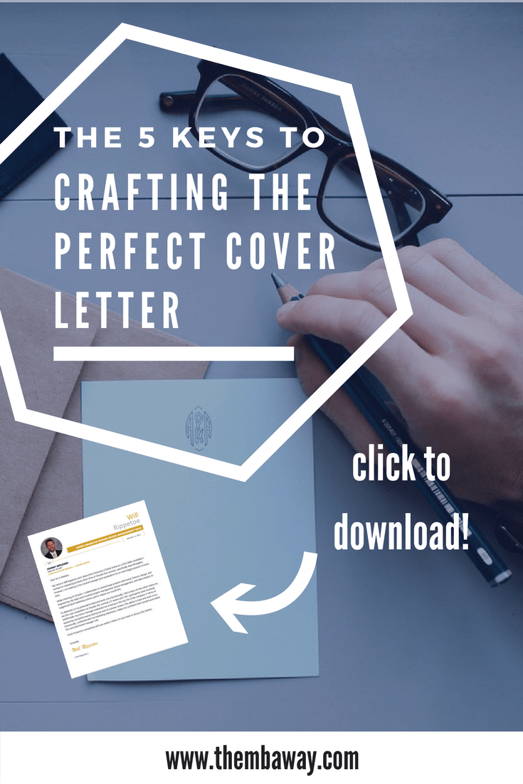 How to Write The Perfect Cover Letter  5 Keys to Succeed   Career     How to Write The Perfect Cover Letter  5 Keys to Succeed   Career Coaching    Leadership Development   San Diego   The MBA Way