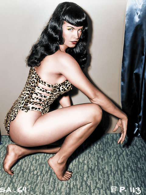 bettie page color # 87